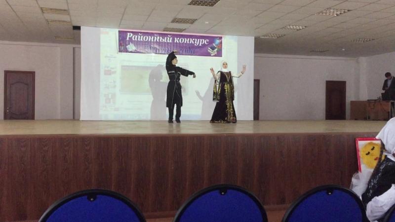 Ученик года 2018. Махаури Усман и Назирова Марьям.