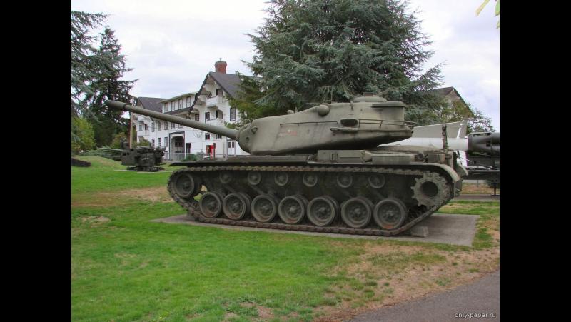 Загляни в реальный танк М103. Часть 1. В командирской рубке