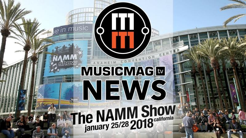 Musicmag TV News Выпуск 87 Новости NAMM 2018 - MiniBrute2, Korg Prologue, UAD Arrow и др.