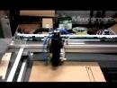 Обкатка механики лазерного станка для резки металла и неметалла УЛК1390 ULC-1