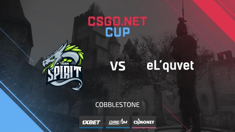 Spirit vs eL`quvet de cbble Cup 1