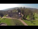 Altenstein von oben FPV Flug