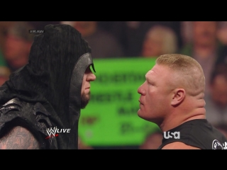 wwe monday night raw 2014.02.24 - The Undertaker & Brock Lesnar segment