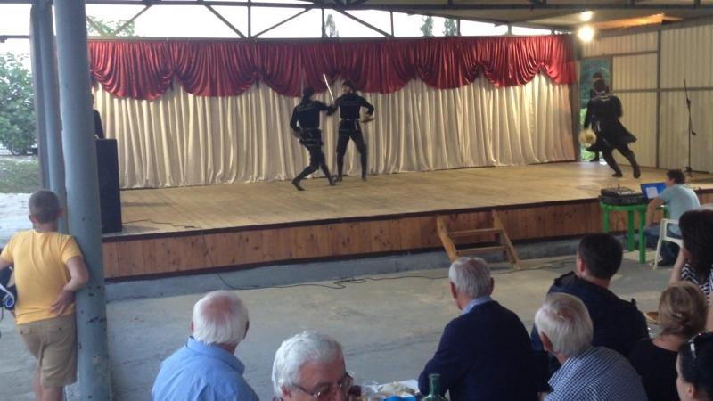 Абхазия. Гадаута. Абхазские танцы.