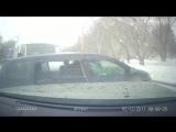 Серьезное столкновение трёх автомобилей на Затулинке