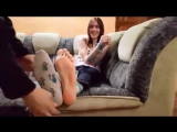 Anastasias Feet Gets Tickled Part 2