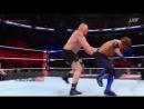 Brock Lesnar Vs AJ Styles - Survivor Series Match 2017