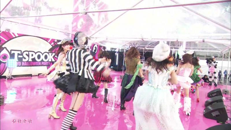[FAM48INA] 171021 T-Spook 2017 ~Tokyo Halloween Party~ Special Live (SKE48) (Fuji TV Next 171123)