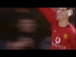 Первый гол Криштиану Роналду за МЮ