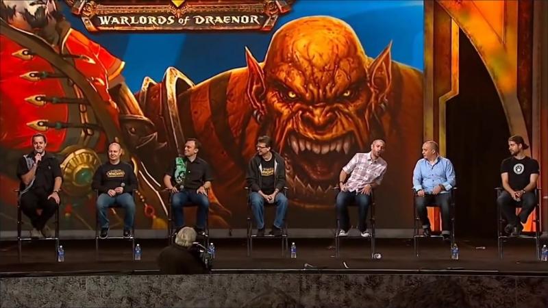 Джей Аллен Брэк о классических серверах World of WarCraft на Blizzcon 2013 (Английский)