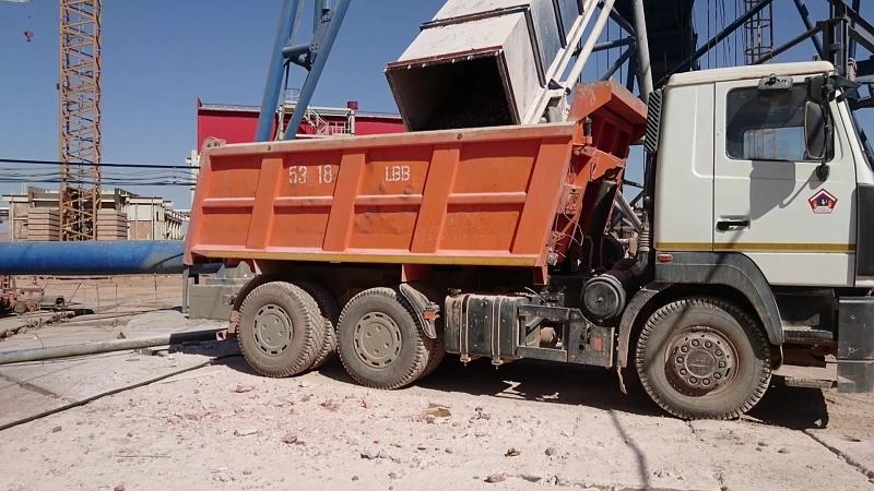 Нулевая ствола калийного рудника в Туркмении часть 2.