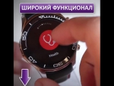 Умные часы SW007 - спортивные умные часы с металлическим корпусом🔥