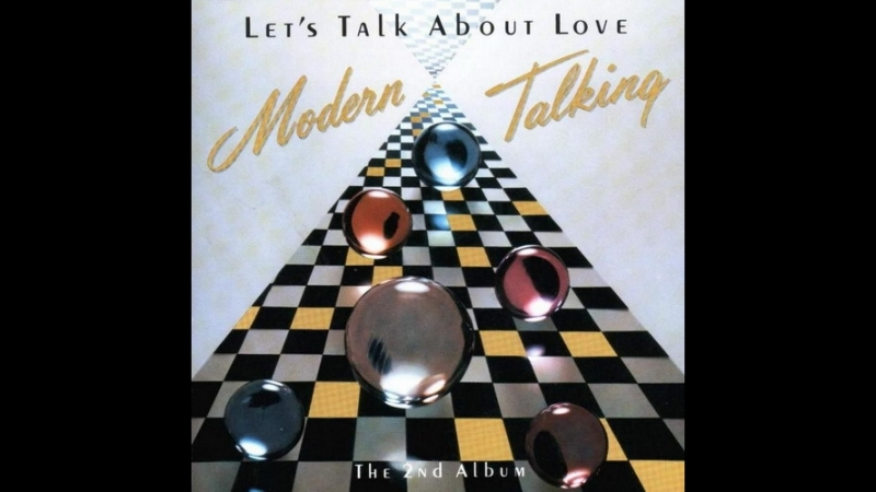 MODERN TALKING - Witch a little love. HANSA RECORDS/GERMANY. LP