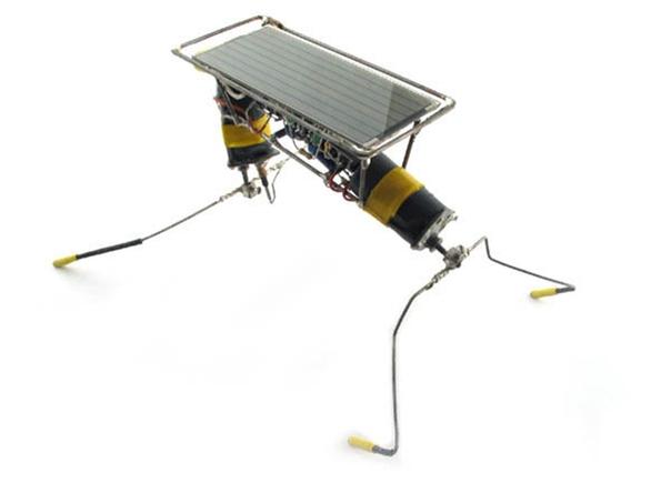 Шагающий BEAM-робот на солнечной энергии
