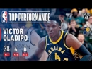 Victor Oladipo Scores 38 in OT Win Over Nets December 23, 2017