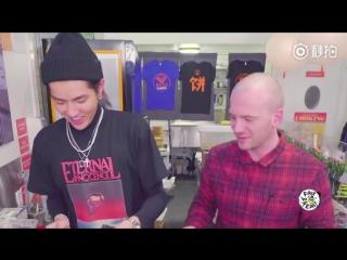[VIDEO] 180103 Kris Wu Schools Sean Evans on Regional Chinese Food @ Wu Yi Fan