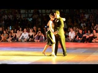 Sebastian Arce y Mariana Montes. Танго февтиваль в Сиракузах, 2012 год.