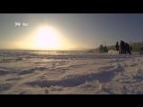 На Первом озере прорубили иордань