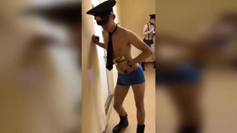 Курсанты УИГА -скандальное видео