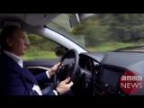 Когда сел в машину необычного водителя