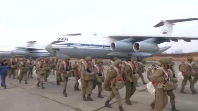 Бригадные тактические учения Уссурийского соединения ВДВ в Приморье (1)