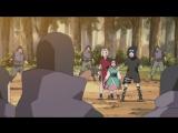 Наруто, Саске и Сакура прoтив Садая и его людей