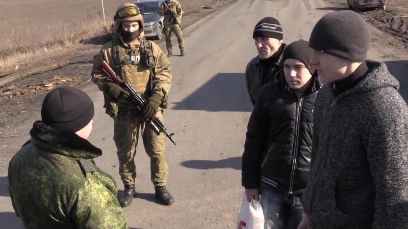 Состоялся обмен пленных ДНР 6 чел на Украинских 3 чел