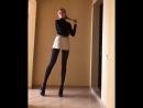 Legs In Tights | Ножки в колготках #1