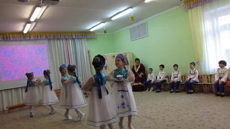 MVI 1525Мастер класс Русский сувенир в 95 детском саду г Омска