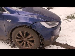 Tesla X - Off-Road