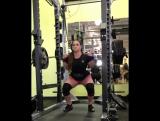 Аманда Лоуренс - присед 192 кг
