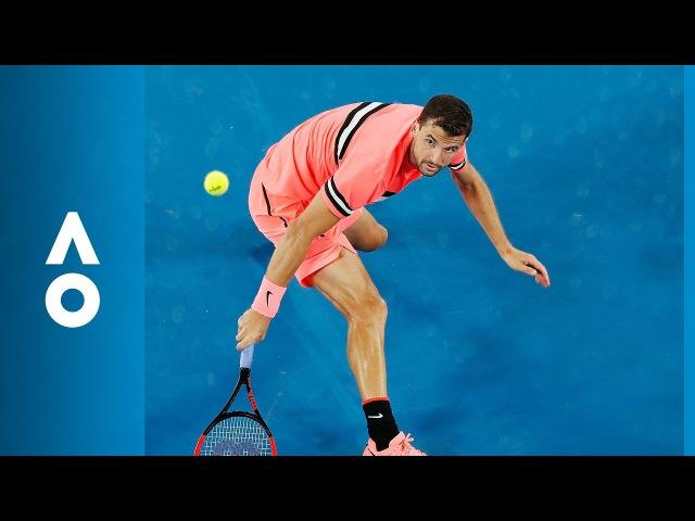 Grigor Dimitrov v Mackenzie McDonald match highlights (2R) | Australian Open 2018