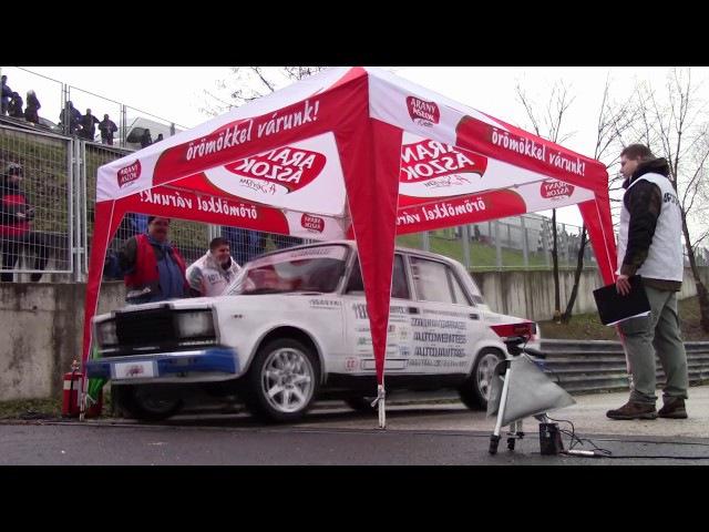 Molnár-Zákányi Lada 2107 Szilveszter Rallye 2017.-Lepold Sportvideo