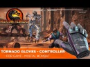 TORNADO GLOVES - Game Controller. MORTAL KOMBAT XL (2 players: Scorpion vs Sub Zero)