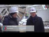Сергей Собянин осмотрел ход работ на станции «Юго-Восточная» КЖЛ
