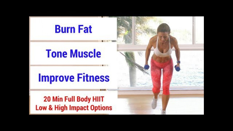 HIIT 55: 20 minute full body HIIT workout to burn fat, build muscle, increase fitness