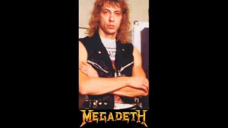 Megadeth Gar Samuelson-Wake Up Dead Drum Track (HQ 480p)