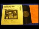 West Coast Pop Art Experimental Band Volume 1 1966 US FIFO