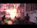Видео задержания участников запрещённого движения Артподготовка