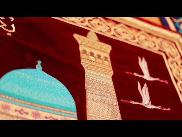 "Gold embroidery miniature ""Buhoroi sharif"" / Золотошвейная миниатюра ""Бухорои шариф"""