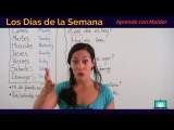 Free Spanish Lessons with Maider - Days of the Week (Días de la Semana) 05