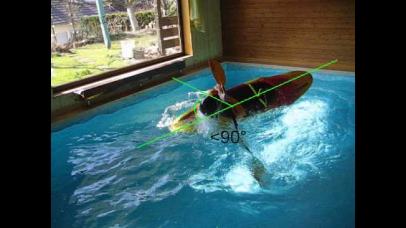Kayak roll sweep to the back deck roll tutorial