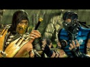 Mortal Kombat Komplete Edition SCORPION Vs SUB-ZERO MKX in MK9 Costume Skin PC Mod by AlterL MKKE HD