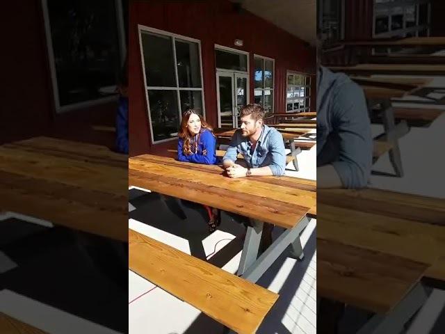 Jensen Danneel interview abt their brewery