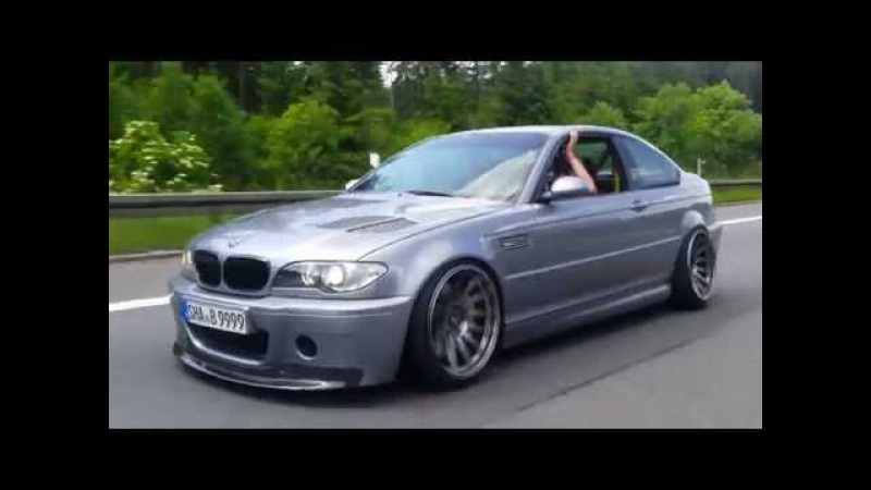 Camber. Bensons E46 rollin low