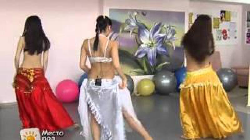 Восточная разминка на телеканале Алматы Танцевальная студия Идеал