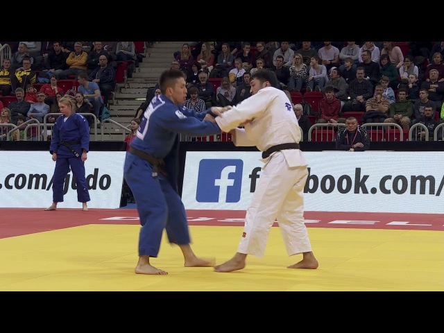 73kg Ondar, Sayan-Ganbaatar, Odbayar Dusseldorf 2018