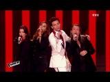 Mika, Zazie, Jenifer &amp Florent Pagny - Rue de la Paix The Voice France 2015 Blind Audition