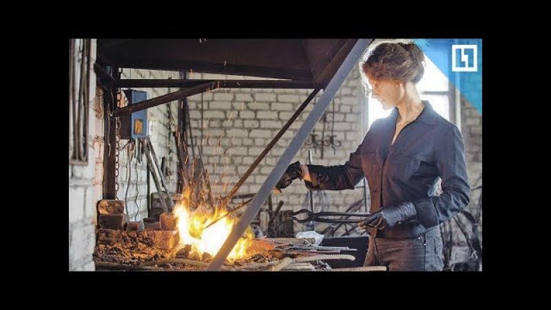 Единственная женщина-кузнец в Беларуси