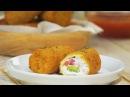 Fondants dedans, croustillants dehors : mini cannelloni farcis